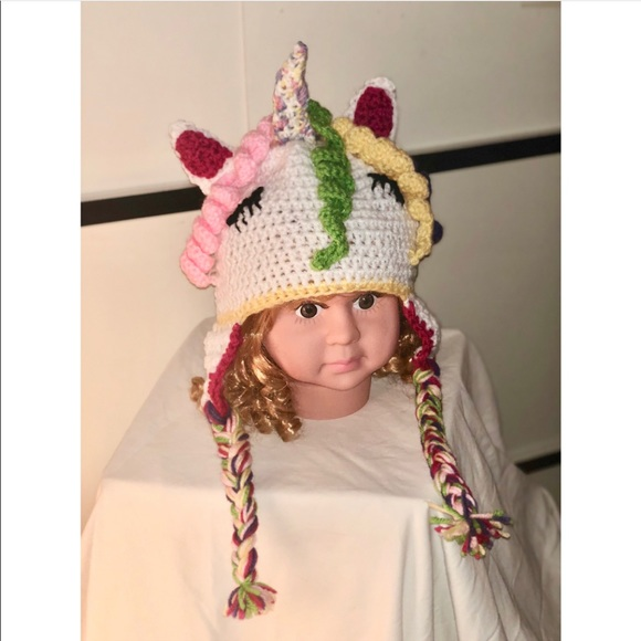 Other My Little Pony Unicorn Crochet Hat Poshmark